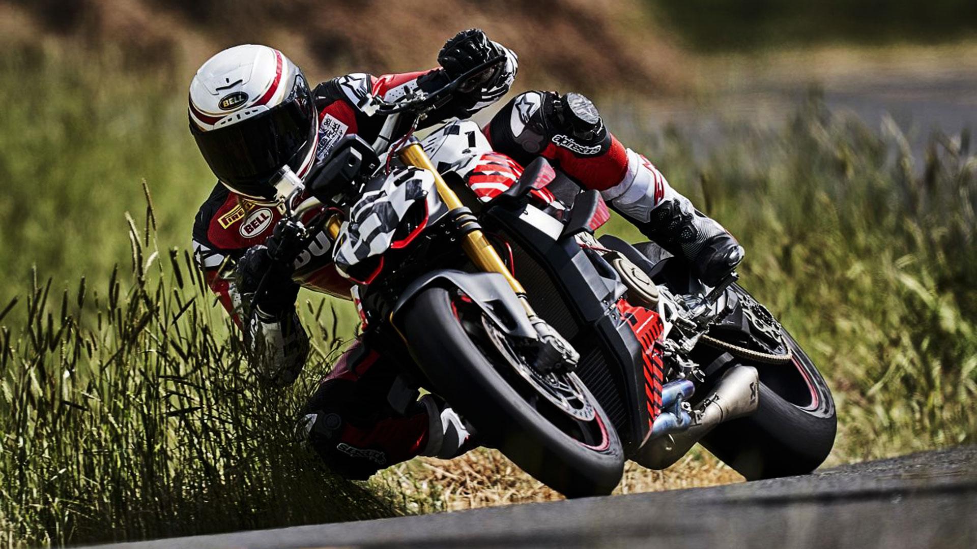 Ducati Streetfighter V4: nuda potenza alla Pikes Peak 2019