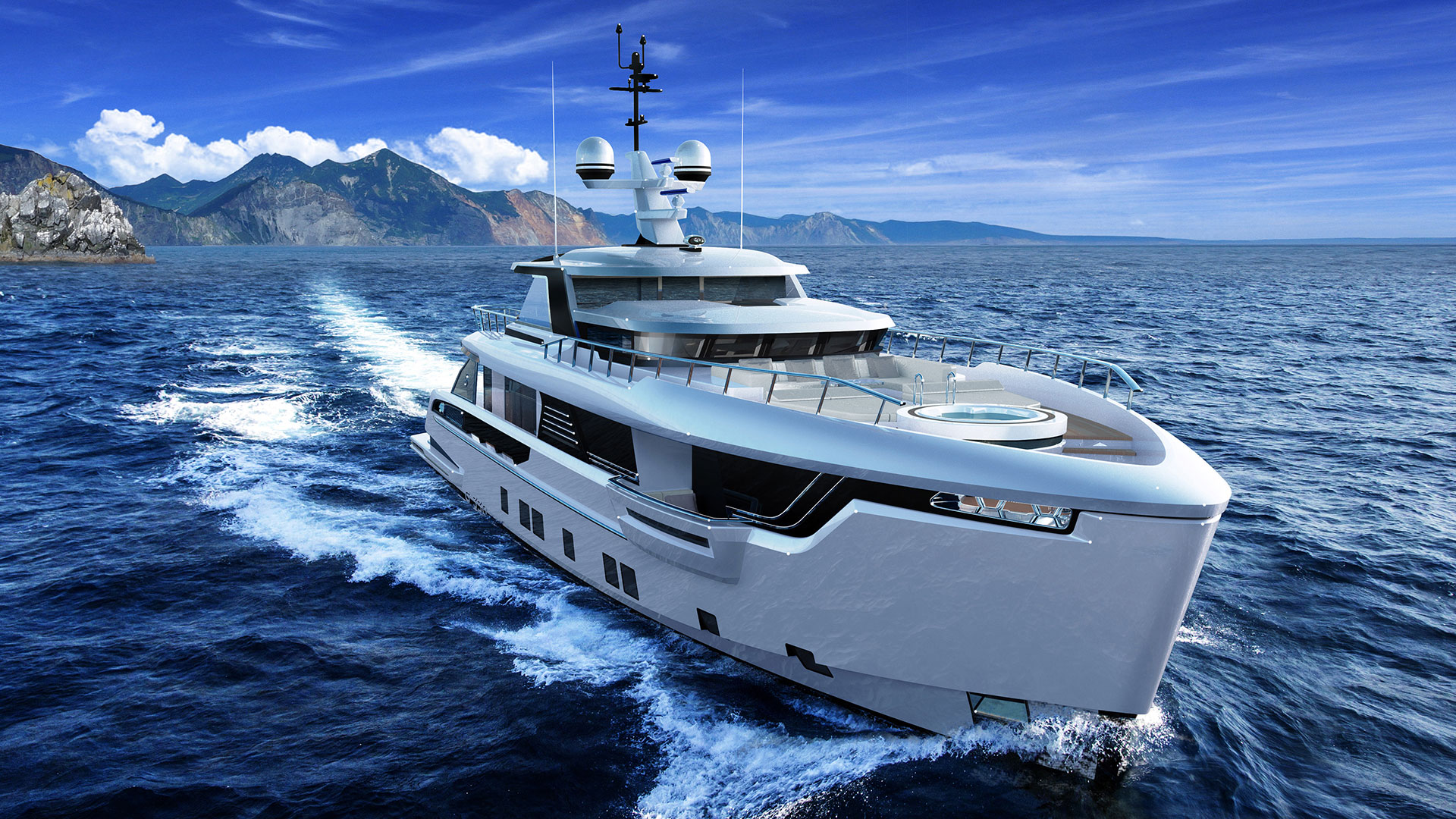 Dynamiq GLOBAL 330: un superyacht e tre misure