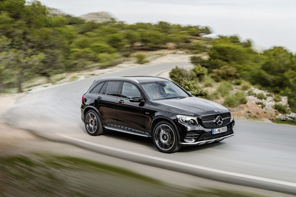 Mercedes-AMG GLC 43 (X 253), 2016